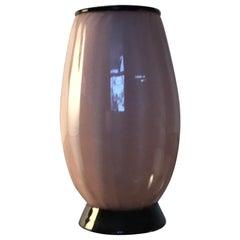Venini Tommaso Buzzi Jacketed Glass Vase, 1950, Italy