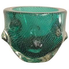 "Venini Vase ""Bugne"" Murano Glass, 1940, Italy"
