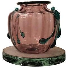 "Venini ""Vittorio Zecchin"" Vase Murano Glass, 1940, Italy"