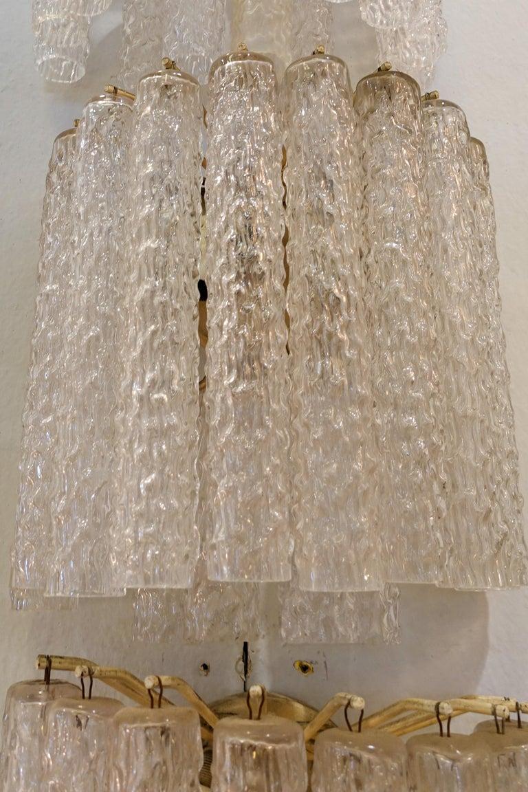 Italian Venini Wall Lamp For Sale