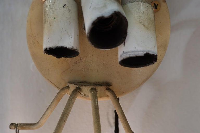 Mid-20th Century Venini Wall Lamp For Sale