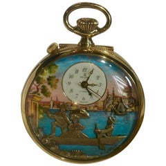 Venise Music Box from Reuge Manufacture, Pocket Watch, Mechanical Mouvement