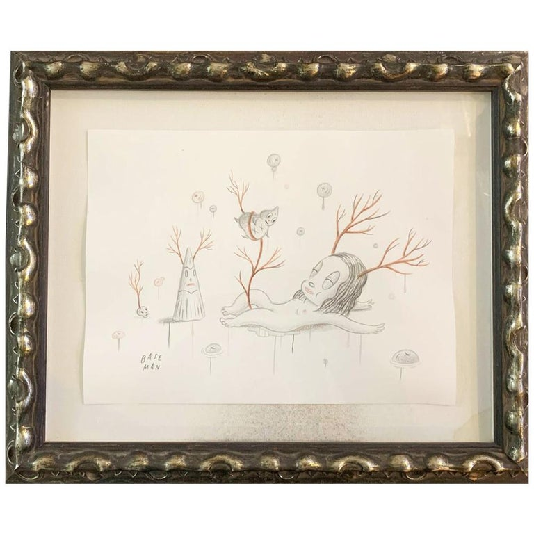 Venison's Hopes and Dreams, Drawing by Gary Baseman, 2006 For Sale