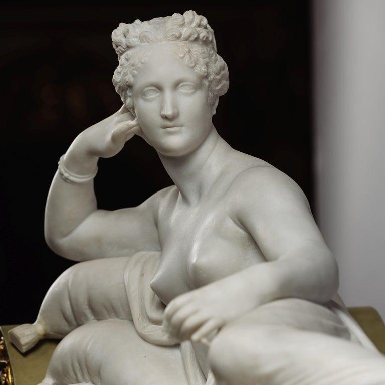 Venus Victrix, Marble Sculpture after Antonio Canova, circa 1890 For Sale 2