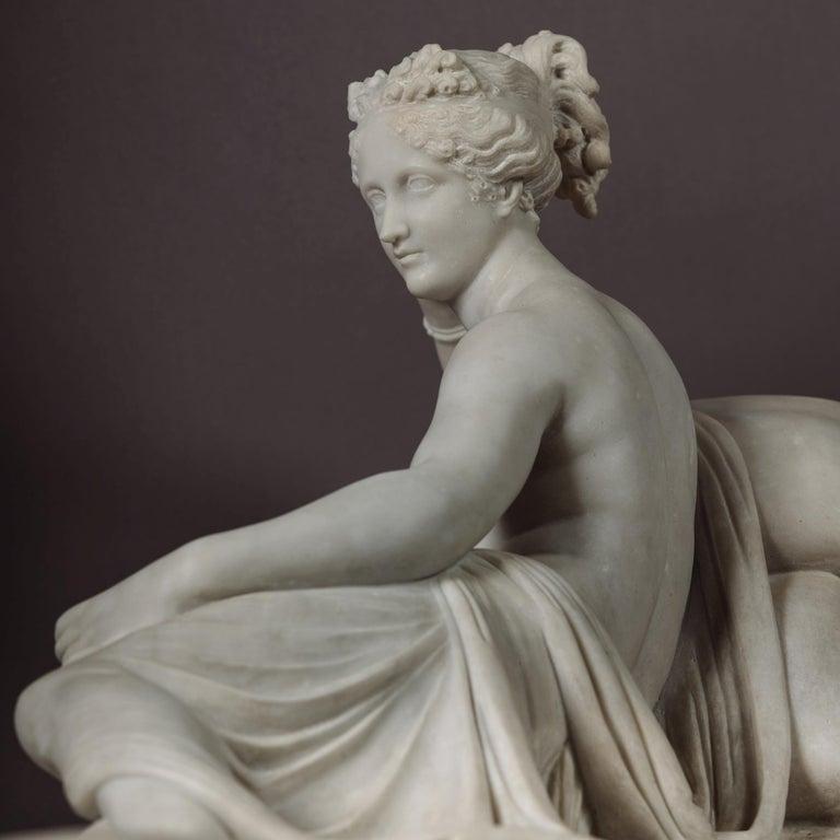 Venus Victrix, Marble Sculpture after Antonio Canova, circa 1890 For Sale 3