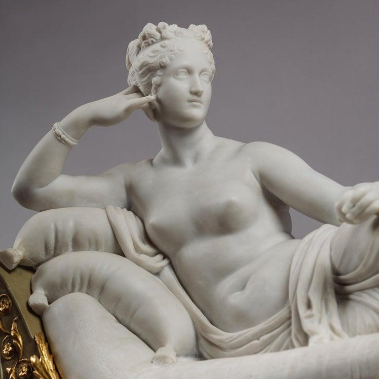 Venus Victrix, Marble Sculpture after Antonio Canova, circa 1890 For Sale 4