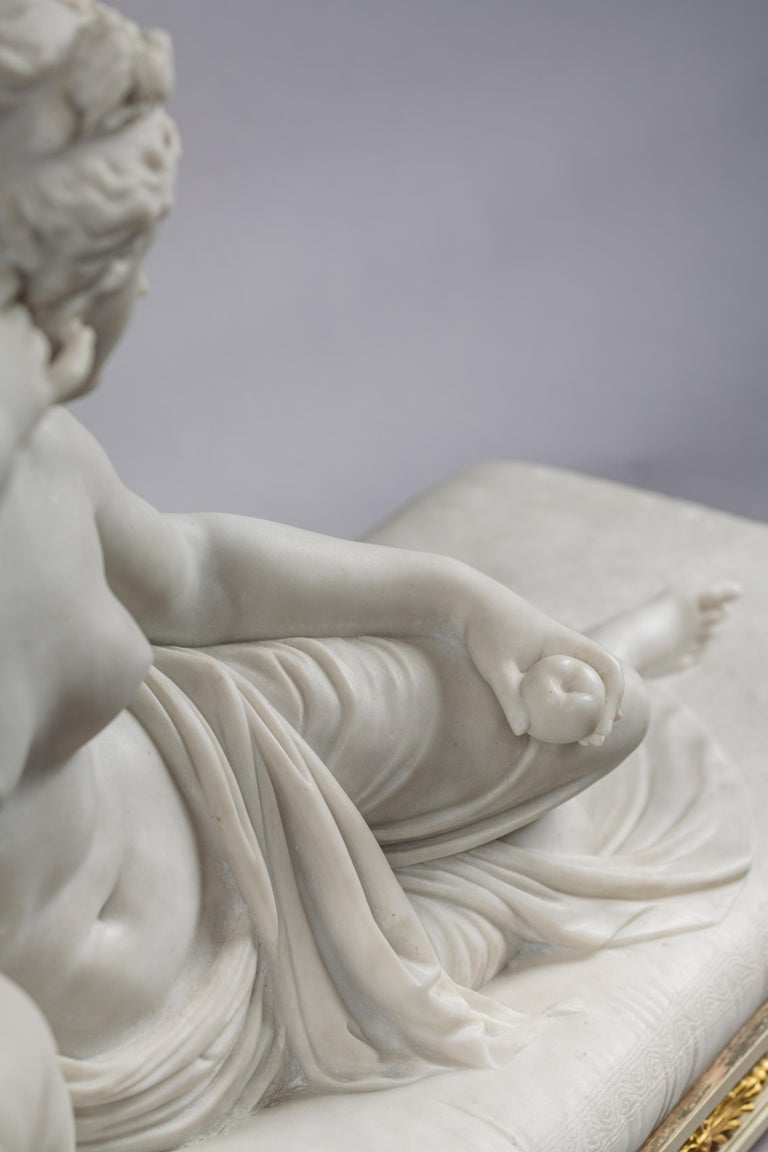 Venus Victrix, Marble Sculpture after Antonio Canova, circa 1890 For Sale 5