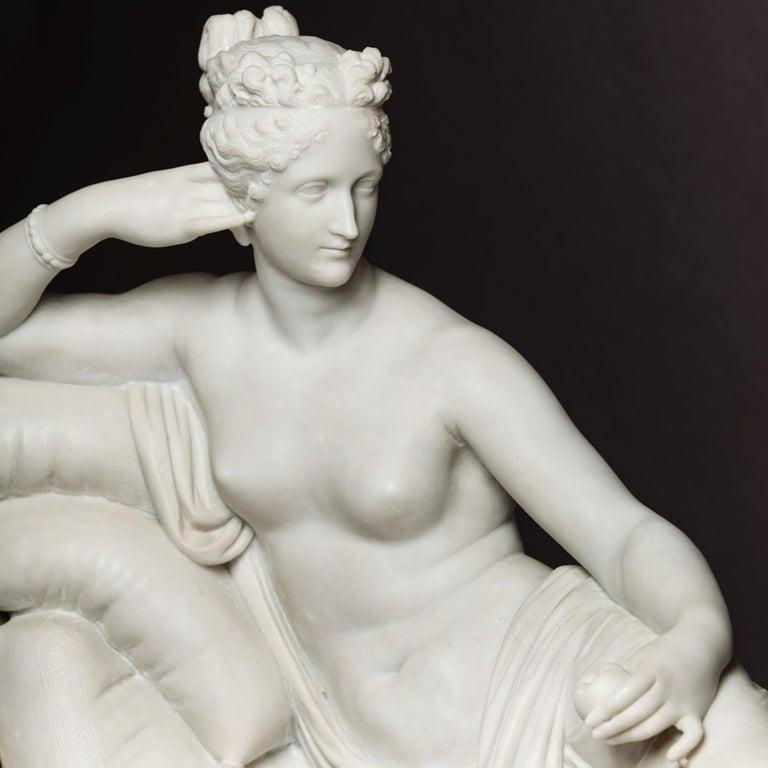 Venus Victrix, Marble Sculpture after Antonio Canova, circa 1890 For Sale 1