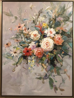 """""""Colors of Life"""" Oil on Canvas by Vera Oxley 30"""" x 40"""""""