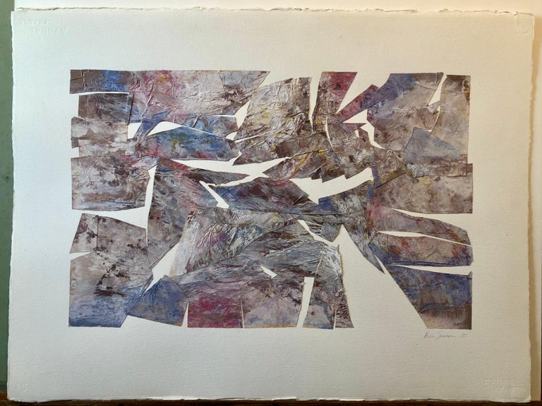 MIxed Media Collage Assemblage Abstract Painting Pioneering Female Aviator  For Sale 6