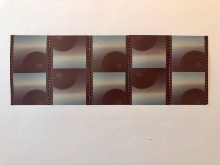 Film Strips Photo Mosaic Collage Photograph Pioneer Female Aviator Feminist Art - Black Color Photograph by Vera Simons