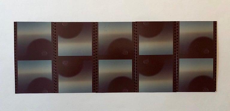 Vera Simons Color Photograph -  Film Strips Photo Mosaic Collage Photograph Pioneer Female Aviator Feminist Art