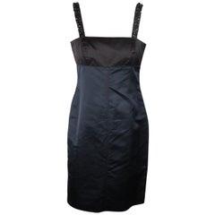 Vera Wang Color Block Sheath Dress Size 8