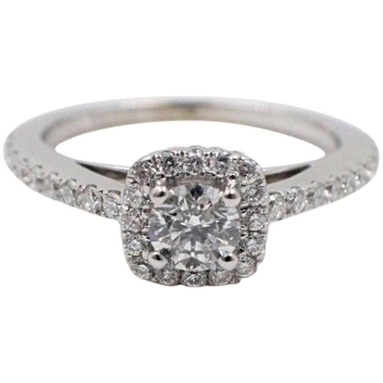 Vera Wang Love Diamond Engagement Ring 3/4 Carat In 14