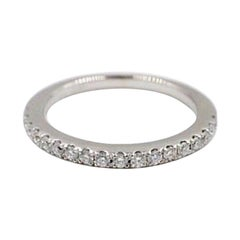 Vera Wang Love Diamond Wedding Band Ring 14 Karat White Gold