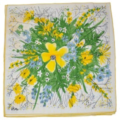 "Vera Wonderful Vivid set of 4 ""Bursting Floral"" Table Napkins"