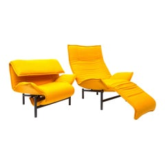 Veranda Lounge Chair by Vico Magistretti for Cassina, 1983