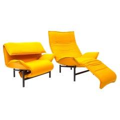 Veranda Lounge Chair by Vico Magistretti for Cassina, 1983