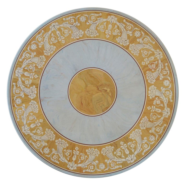 Verbena round dining or center table