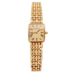 Verdura 14 Karat Yellow Gold Ladies Wristwatch