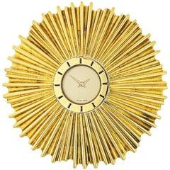 Verdura 1960s 18 Karat Yellow Gold Watch Brooch