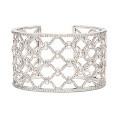 Verdura Diamond 'Kensington' Cuff Bracelet