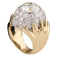 Verdura Diamond Ring
