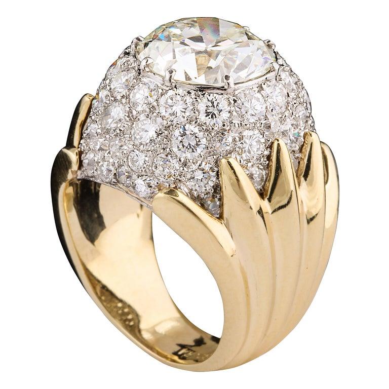Verdura diamond ring, 1957