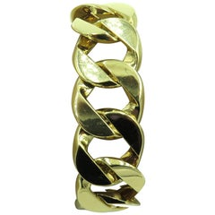 Verdura Gold Link Bracelet
