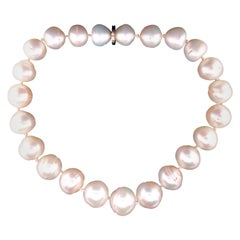 Verdura Strand of Baroque Pearl Necklace