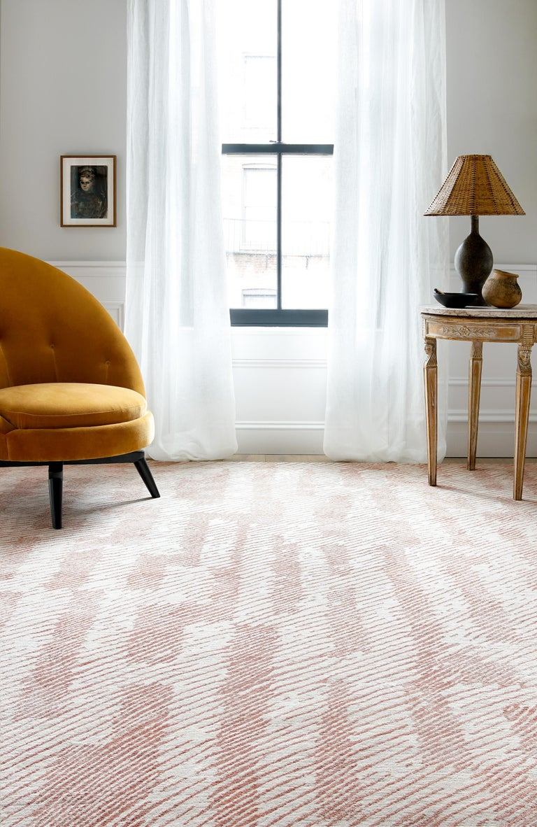 Verge Rug in Hand Knotted Wool and Silk by Kelly Wearstler For Sale 5