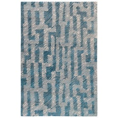 Verge Rug in Hand Knotted Wool and Silk by Kelly Wearstler
