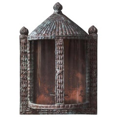 The Jamb Verity Bronze Wall Lantern