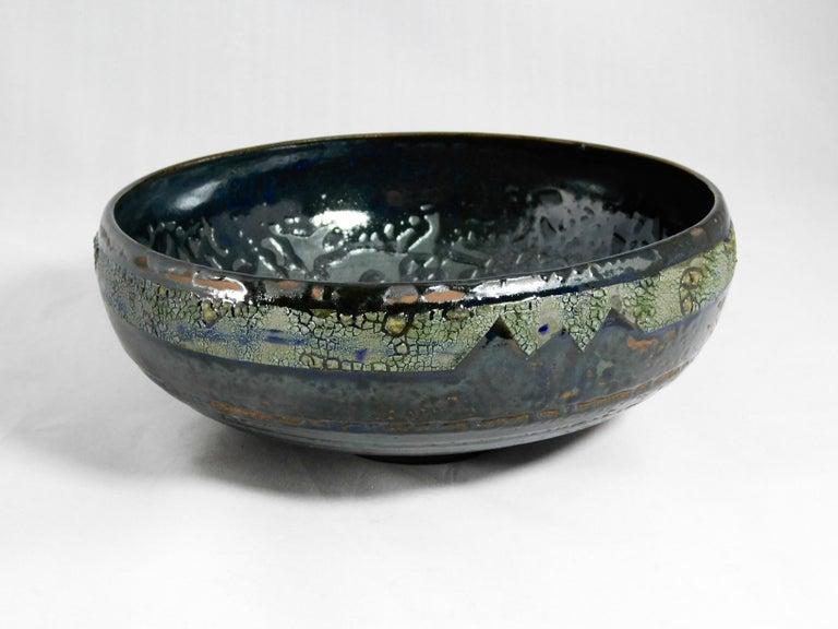 American Verkovina Ceramic Bowl by Andrew Wilder, 2018 For Sale