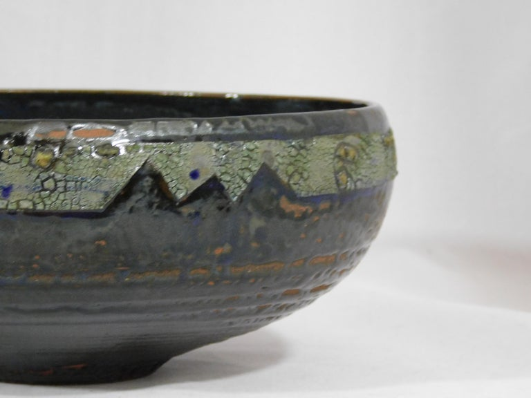 Verkovina Ceramic Bowl by Andrew Wilder, 2018 In New Condition For Sale In Richmond, VA