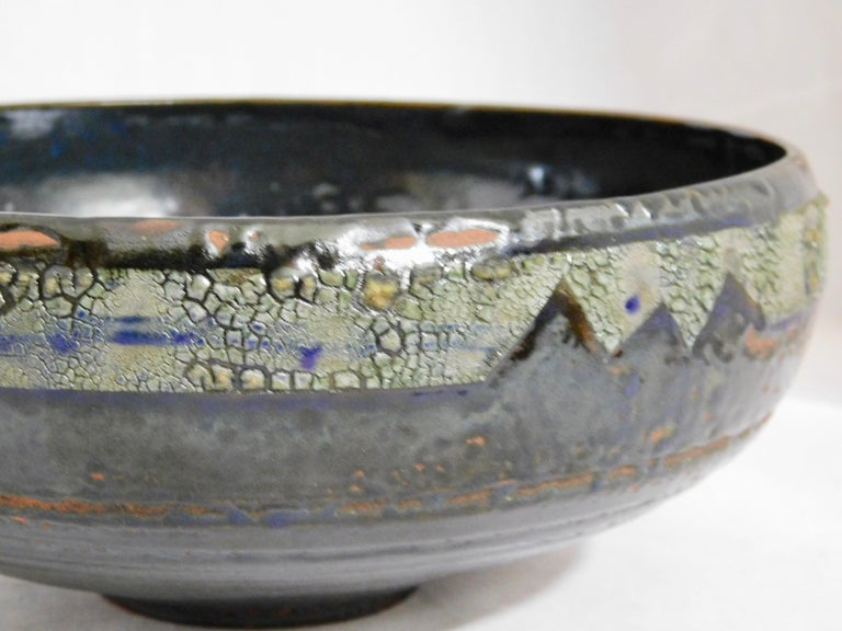 Contemporary Verkovina Ceramic Bowl by Andrew Wilder, 2018 For Sale