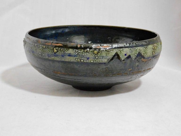 Verkovina Ceramic Bowl by Andrew Wilder, 2018 For Sale 1