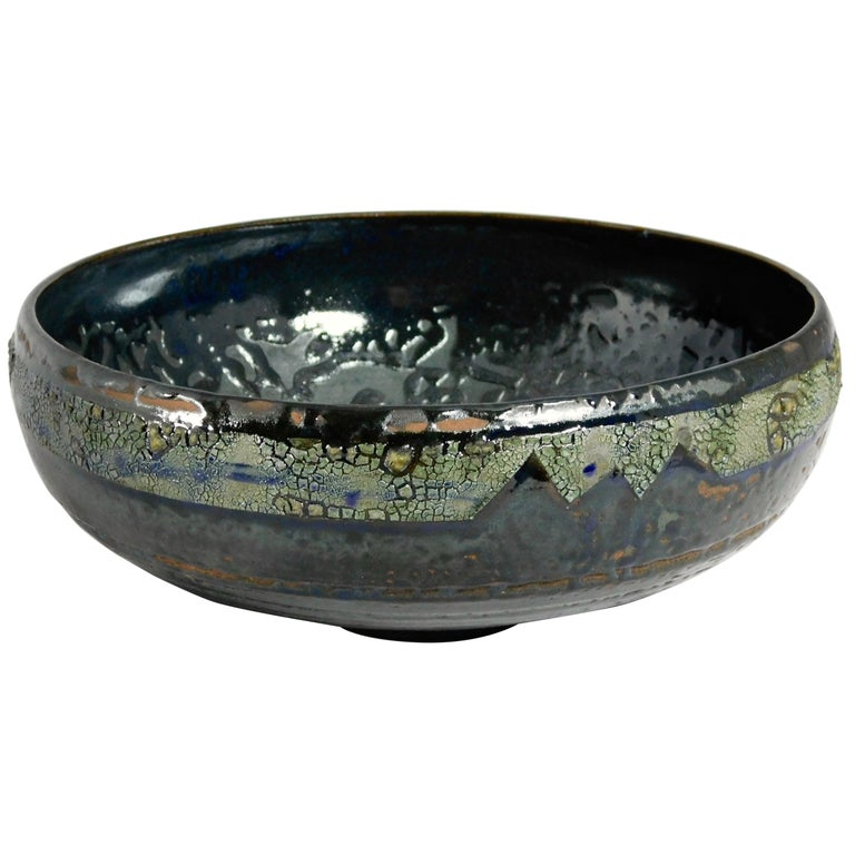 Verkovina Ceramic Bowl by Andrew Wilder, 2018 For Sale