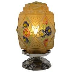 Verlys Des Hanots French Art Deco Table Lamp, circa 1930