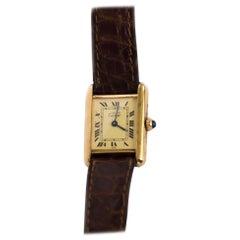 Vermeil Cartier Watch