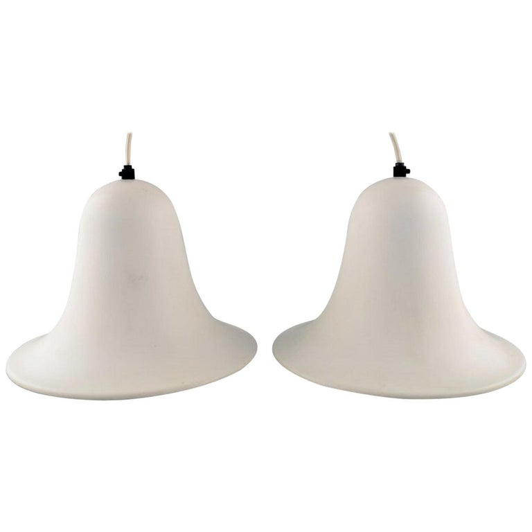 Verner Panton for Louis Poulsen, a Pair of Pantop Pendants, 1980s For Sale