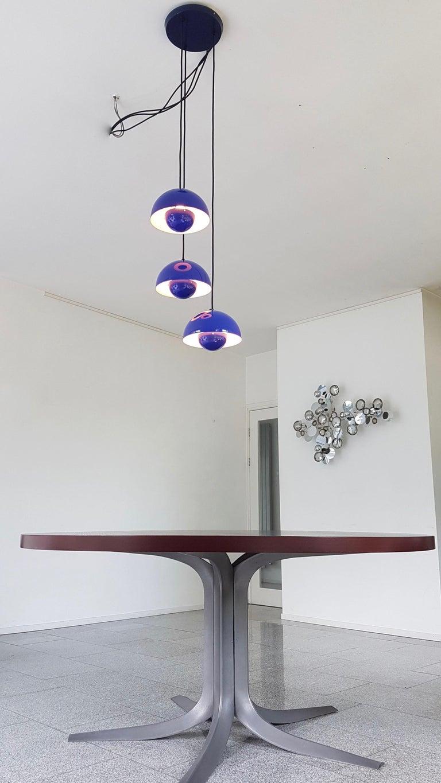 Verner Panton 1970s Flower Pot Cluster Lamp Ceiling Lamp For Sale 4