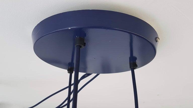 Verner Panton 1970s Flower Pot Cluster Lamp Ceiling Lamp For Sale 1