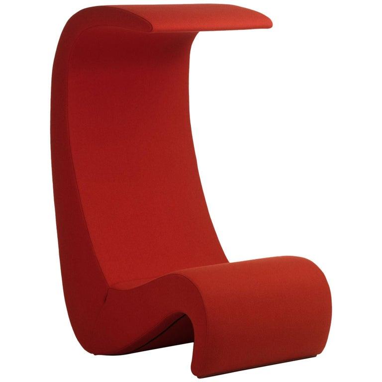 Verner Panton Amoebe Highback Chair in Foam by Vitra