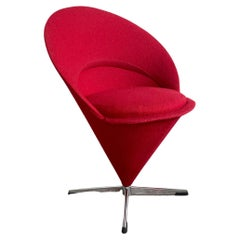 "Verner Panton ""Cone"" Chair, Danish Design, 1960s-1970s"