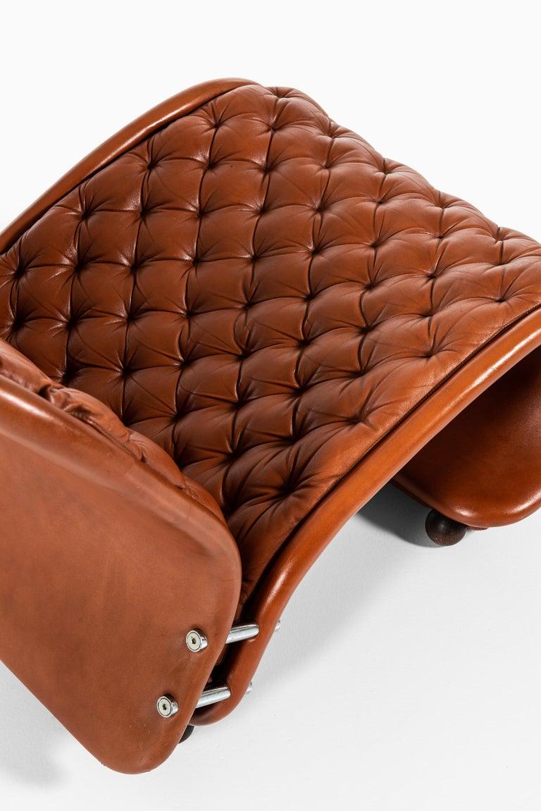 Scandinavian Modern Verner Panton Easy Chairs Model System 1-2-3 by Fritz Hansen in Denmark For Sale