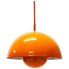Verner Panton Flowerpot Pendant Light for Louis Poulsen, Denmark