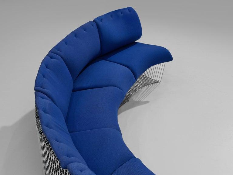 Scandinavian Modern Verner Panton for Fritz Hansen 'Pantonova' Sofa For Sale