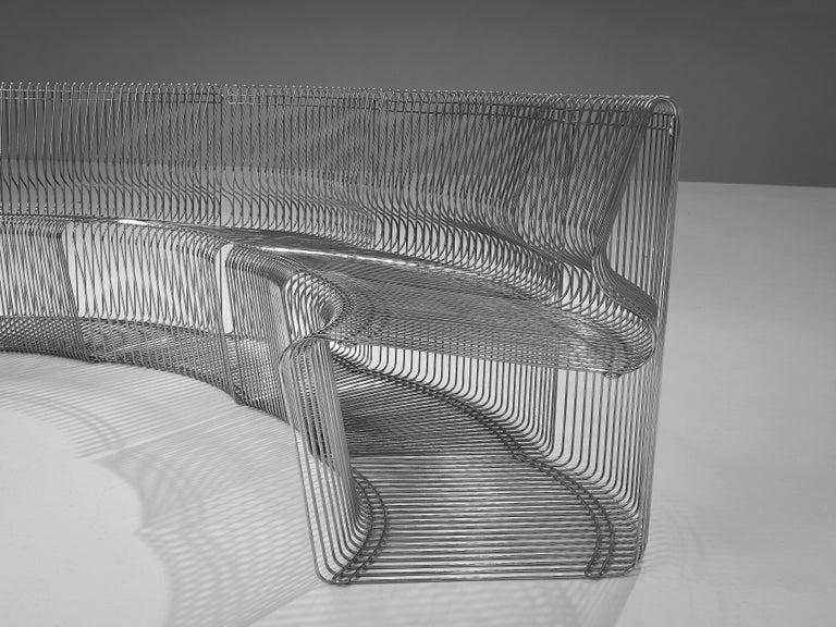 Verner Panton for Fritz Hansen 'Pantonova' Sofa In Good Condition For Sale In Waalwijk, NL