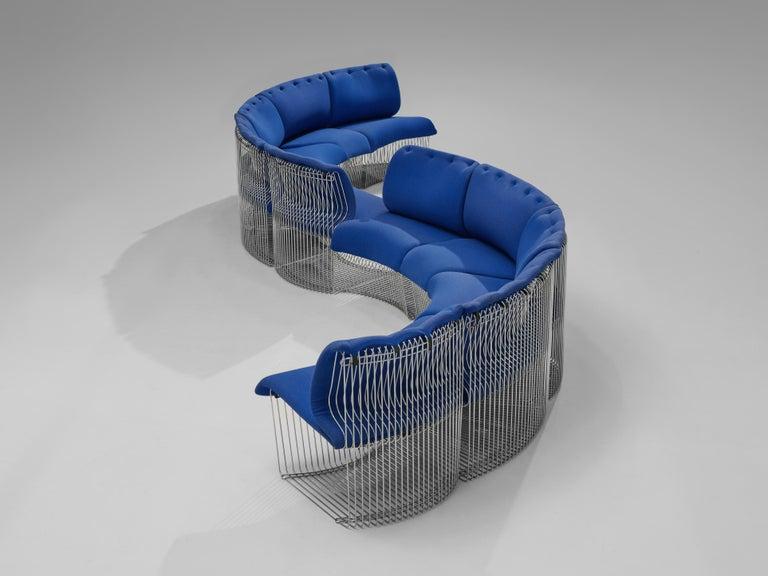 Late 20th Century Verner Panton for Fritz Hansen 'Pantonova' Sofa For Sale